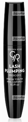 Golden Rose - LASH PLUMPING Mascara - Intense Volume Max. Definition&Lift Up - Tusz do rzęs zwiększający objętość