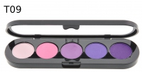 Make-Up Atelier Paris - Paleta 5 cieni - T09 - T09