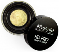 FREEDOM - HD PRO FINISH POWDER BANANA - Bananowy sypki puder do twarzy