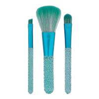 I ♡ Makeup - I ♡ Mermaids Forever - MINI GEM BRUSH SET - Zestaw 3 pędzli do makijażu
