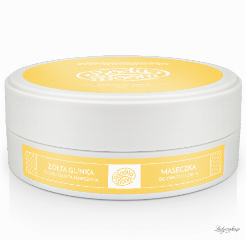 BodyBoom ​​- Face and Body Mask - YELLOW CLAY - Oily and Mixed Skin