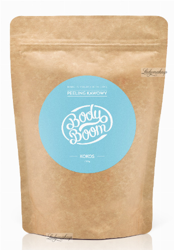 BodyBoom - Coffee peeling - COCONUT