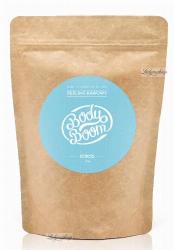 BodyBoom - Peeling kawowy - KOKOS - 200 g