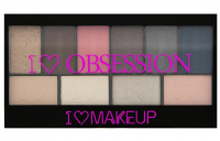 I ♡ Makeup - I ♡ OBSESSION PALETTE - 10 eyeshadows - PARIS