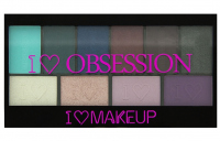 I Heart Revolution - I ♡ OBSESSION PALETTE - Paleta 10 cieni do powiek - WILD IS THE WIND