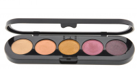 Make-Up Atelier Paris - Paleta 5 cieni - T17 - T17