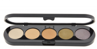 Make-Up Atelier Paris - Paleta 5 cieni - T04 - T04