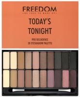 FREEDOM - PRO DECADENCE TODAY'S TONIGHT - PRO DECADENE EYESHADOW PALETTE - Paleta 20 cieni do powiek