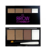 I ♡ Makeup - BROWS KIT - 3 Eyebrow Powder + Wax  - I WOKE UP THIS GROOMED