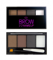 I ♡ Makeup - BROWS KIT - 3 Eyebrow Powder + Wax  - BOLD IS BEST - BOLD IS BEST