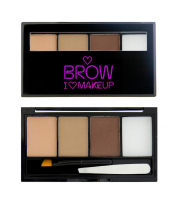 I ♡ Makeup - BROWS KIT - 3 Eyebrow Powder + Wax  - FAIREST OF THEM ALL - FAIREST OF THEM ALL