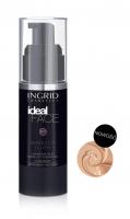 INGRID - Ideal Face - Perfectly Cover - LUXURIOUS SILKY MAKE-UP FOUNDATION - Luksusowy jedwabisty podkład do twarzy - 11 NUDE - 11 NUDE