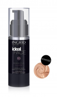 INGRID - Ideal Face - Perfectly Cover - LUXURIOUS SILKY MAKE-UP FOUNDATION - Luksusowy jedwabisty podkład do twarzy - 12 NATURAL BEIGE - 12 NATURAL BEIGE