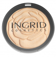 INGRID - HD Beauty Innovation Shimmer Powder - Puder rozświetlający HD