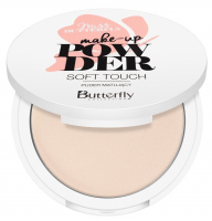 Butterfly - Make-Up Pressed Powder - Soft Touch - Matujący puder prasowany