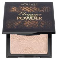 VOLLARÉ - Elegance Pressed Powder - Matujący puder Prasowany