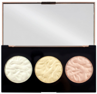 MAKEUP REVOLUTION - STROBE LIGHTING - Strobe Lighting Palette - Paleta 3 rozświetlaczy