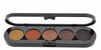 Make-Up Atelier Paris -  Cake Eyeliner 5 Kolorów - TE10 - TE10