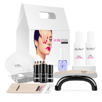 NeoNail - STARTER SET - Hybrid Manicure - Black 9 W Lamp - 5028-1