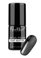 NeoNail - TOP MATTE - Matowy nawierzchniowy lakier hybrydowy - 6 ml - 4040-1