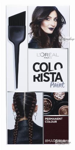 L'Oréal - COLORISTA Paint - #MARSALA 5.15 - Farba do włosów - Trwała koloryzacja - MARSALA