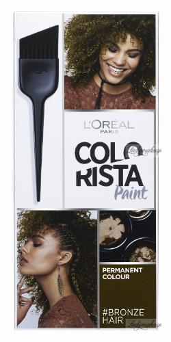 L'Oréal - COLORISTA Paint - #BRONZEHAIR 5.77 - Farba do włosów - Trwała koloryzacja - BRĄZ