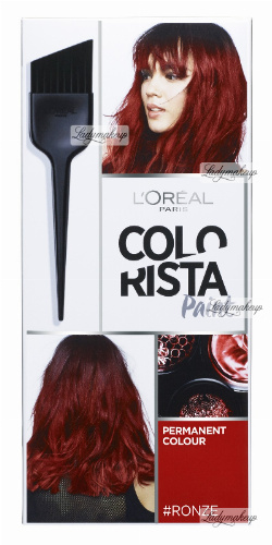L'Oréal - COLORISTA Paint - #RONZE 6.66 - Farba do włosów - Trwała koloryzacja - CZERWONY BRĄZ