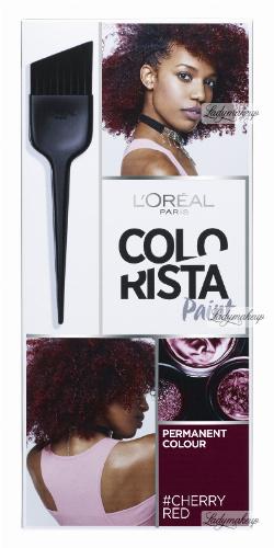 L'Oréal - COLORISTA Paint - #CHERRYRED 3.66 - Farba do włosów - Trwała koloryzacja - WIŚNIOWY