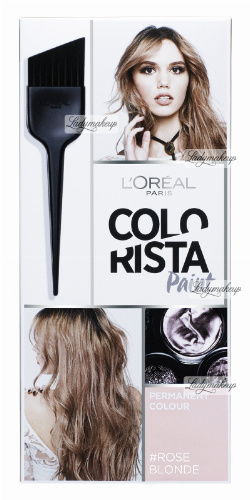 L'Oréal - COLORISTA Paint - #ROSEBLONDE 10.231 - Hair Color - Durability - PINK BLOND