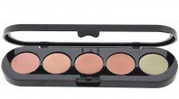 Make-Up Atelier Paris - Palette 6 concealer - Paletka 5 korektorów - C/APC2 - C/APC2