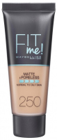 MAYBELLINE - FIT ME! Liquid Foundation For Normal To Oily Skin - Podkład matujący do twarzy