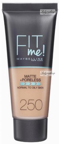 MAYBELLINE - FIT ME! Liquid Foundation For Normal To Oily Skin - Podkład matujący do twarzy
