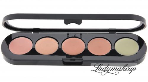 Make-Up Atelier Paris - Palette 6 concealer - Paletka 5 korektorów