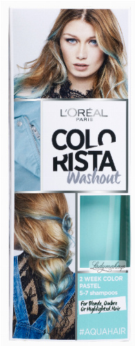 L'Oréal - COLORISTA Washout - #AQUAHAIR - Zmywalna koloryzacja - MORSKI