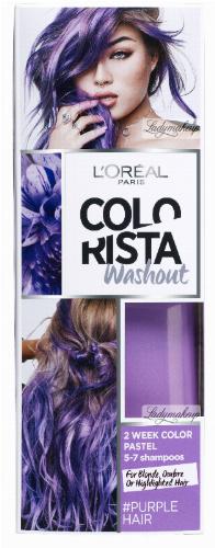 L'Oréal - COLORISTA Washout - #PURPLEHAIR - Zmywalna koloryzacja - FIOLETOWY