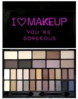 I ♡ Makeup - YOU'RE GORGEOUS - Paleta 32 cieni do powiek