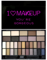 I ♡ Makeup - YOU'RE GORGEOUS - Palette of 32 eyeshadows