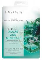 BIODERMIC - PEEL-OFF MINERAL STRENGHTENING - BIOMASK ALGAE AND MINERALS - Mineralne wzmocnienie