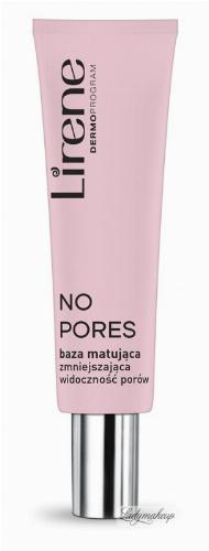 Lirene - NO PORES - Baza pod makijaż matująca i zmniejszająca widoczność porów