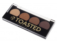 W7 - TOASTED EYESHADOW PALETTE - Paleta cieni do powiek