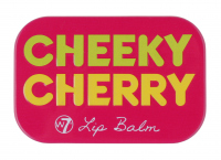 W7 - FRUITY LIP BALM TIN - Balsam do ust - CHEEKY CHERRY - CHEEKY CHERRY