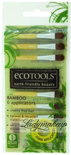 Ecotools - 6 Mini Pędzelków - 1223