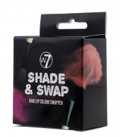 W7 - SHADE & SWAP - Make Up Colour Swapper - Gąbka do czyszczenia pędzli