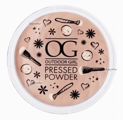W7 - Outdoor Girl Pressed Powder - Puder prasowany