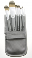 Kryolan - Set of 7 brushes + case