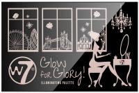 W7 - Glow for Glory! - ILLUMINATING PALETTE - Rozświetlająca paleta