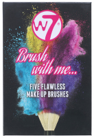 W7 - Brush with me ... - FIVE FLAWLESS MAKEUP BRUSHES