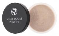 W7 - SHEER LOOSE POWDER - Sypki puder do twarzy