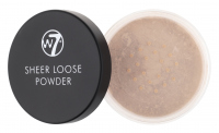 W7 - SHEER LOOSE POWDER - Sypki puder do twarzy