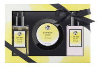 W7 - BATH & BODY SET - Zestaw kosmetyków do pielęgnacji ciała - VANILLA ICE CREAM - SUMMER LOVE
